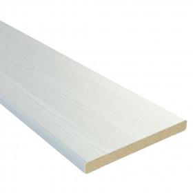 Добір білий МДФ 120мм