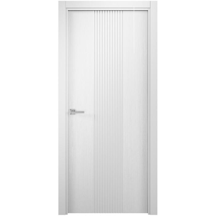 Дверь РЕЙН белая ПГ